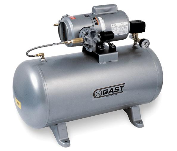 Gast-vacuum-pump